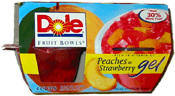 Dole Fruit Bowl--Fruit in Gel